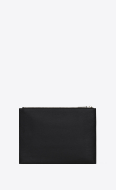 SAINT LAURENT ID SLG U ID Tablet Holder in Black leather b_V4