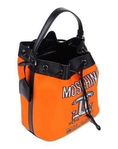 MOSCHINO COUTURE レディース ハンドバッグ オレンジ 紡績繊維
