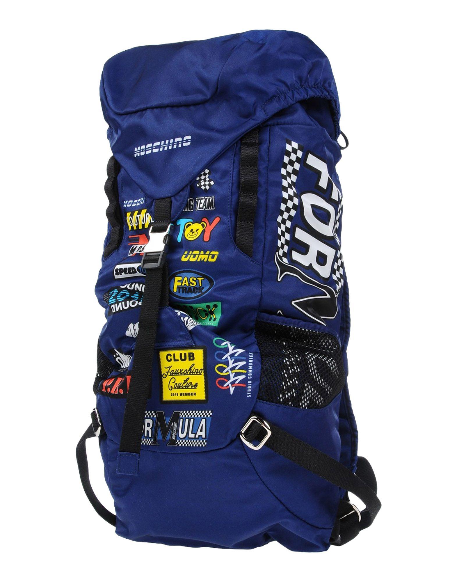 MOSCHINO Рюкзаки и сумки на пояс