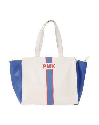 POMIKAKI レディース ハンドバッグ ホワイト ポリウレタン 100%