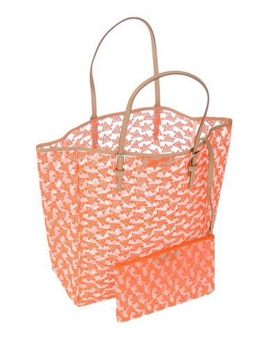 DUYAN レディース ハンドバッグ オレンジ ナイロン 51% / ポリステロール 49%
