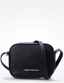 ARMANI EXCHANGE PEBBLED CROSSBODY Crossbody Bag [*** pickupInStoreShipping_info ***] f
