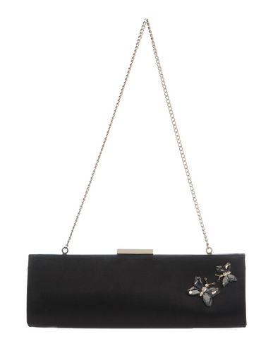 BARACHINI レディース ハンドバッグ ブラック 紡績繊維