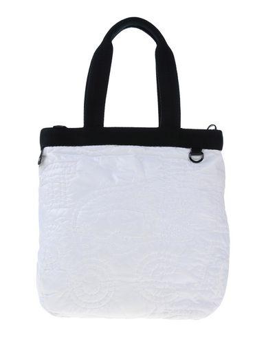 LACOSTE レディース ハンドバッグ ホワイト ナイロン 100%