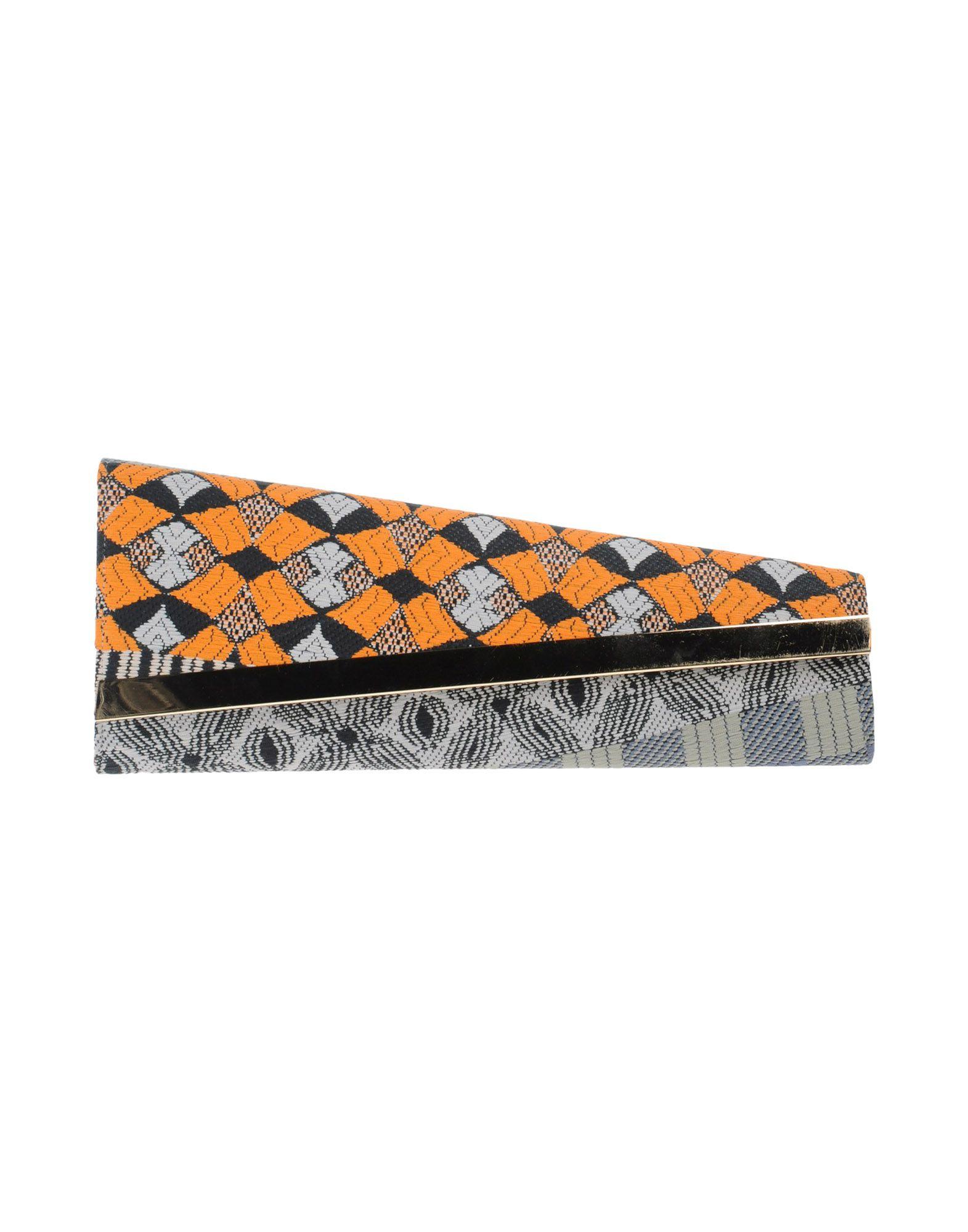 《期間限定セール中》OUI, ODILE! レディース ハンドバッグ オレンジ 紡績繊維