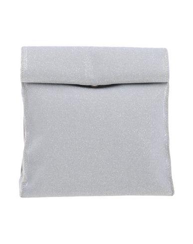 FRANCO PUGI レディース ハンドバッグ ライトグレー 紡績繊維