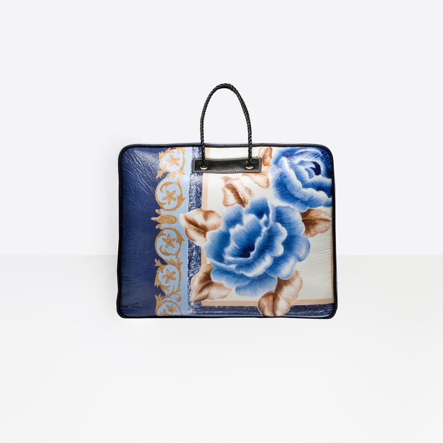 BALENCIAGA Blanket Square XL Blanket Handbags D d