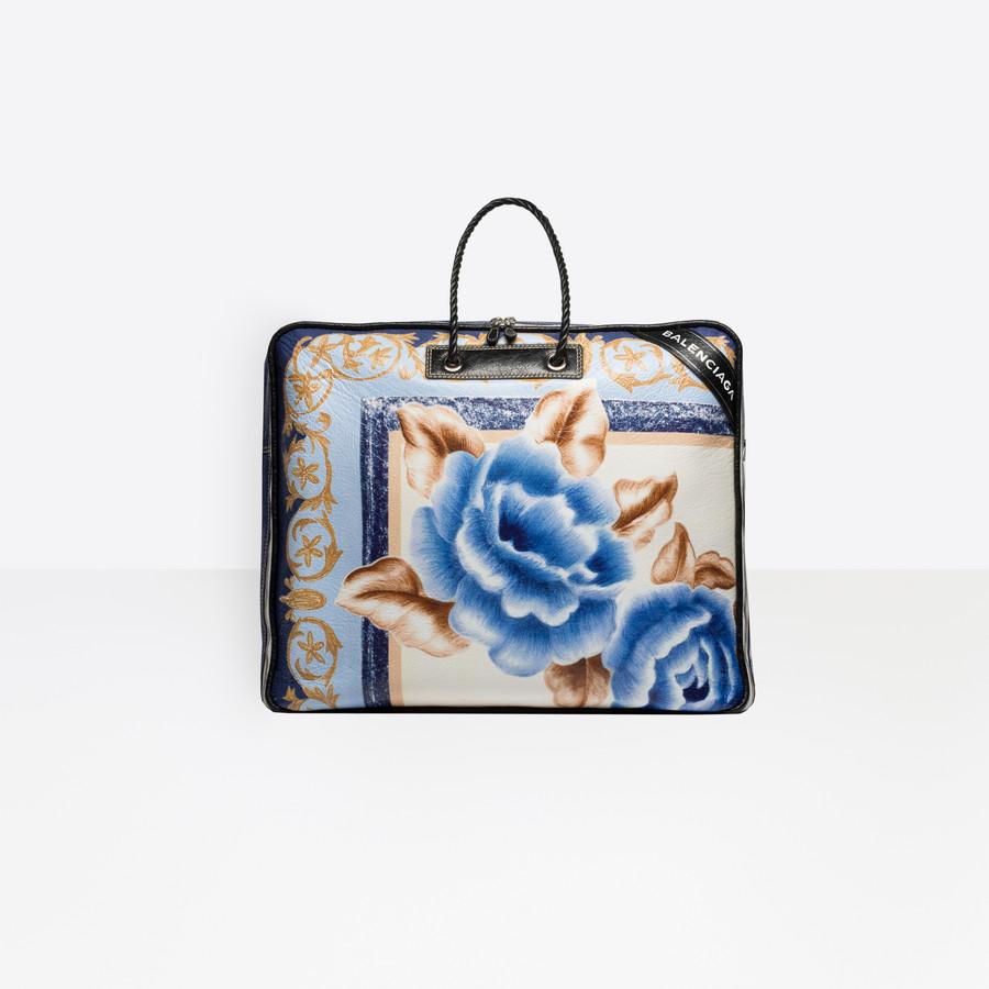 BALENCIAGA Blanket Square XL Blanket Handbags D f