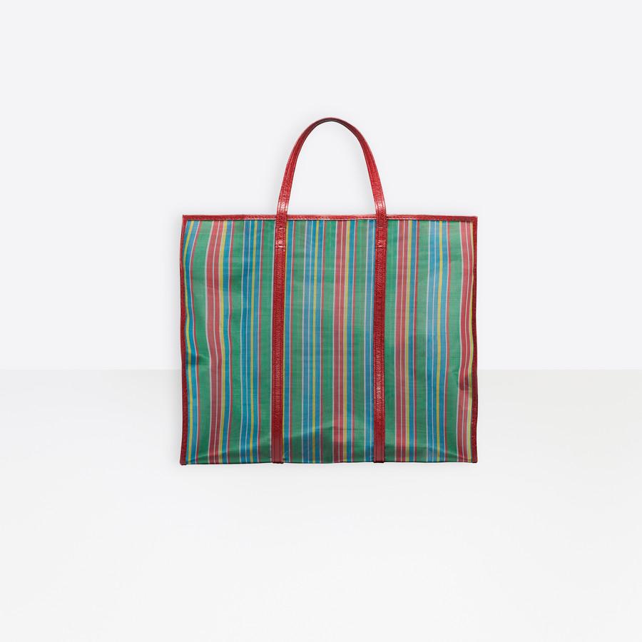 BALENCIAGA Bazar Shopper XL Mesh Bazar handbags Woman d