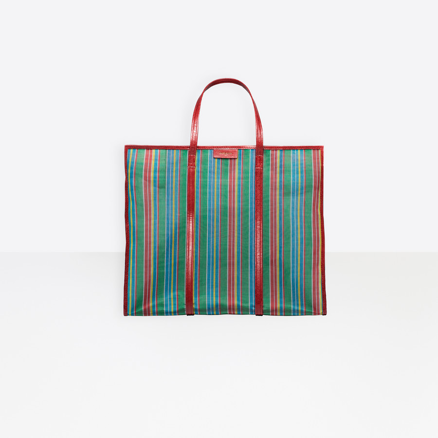 BALENCIAGA Bazar Shopper XL Mesh Bazar handbags D f
