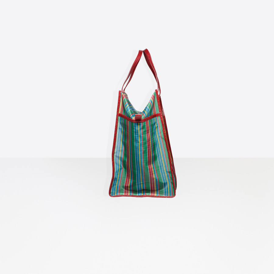 BALENCIAGA Bazar Shopper XL Mesh Bazar handbags D i