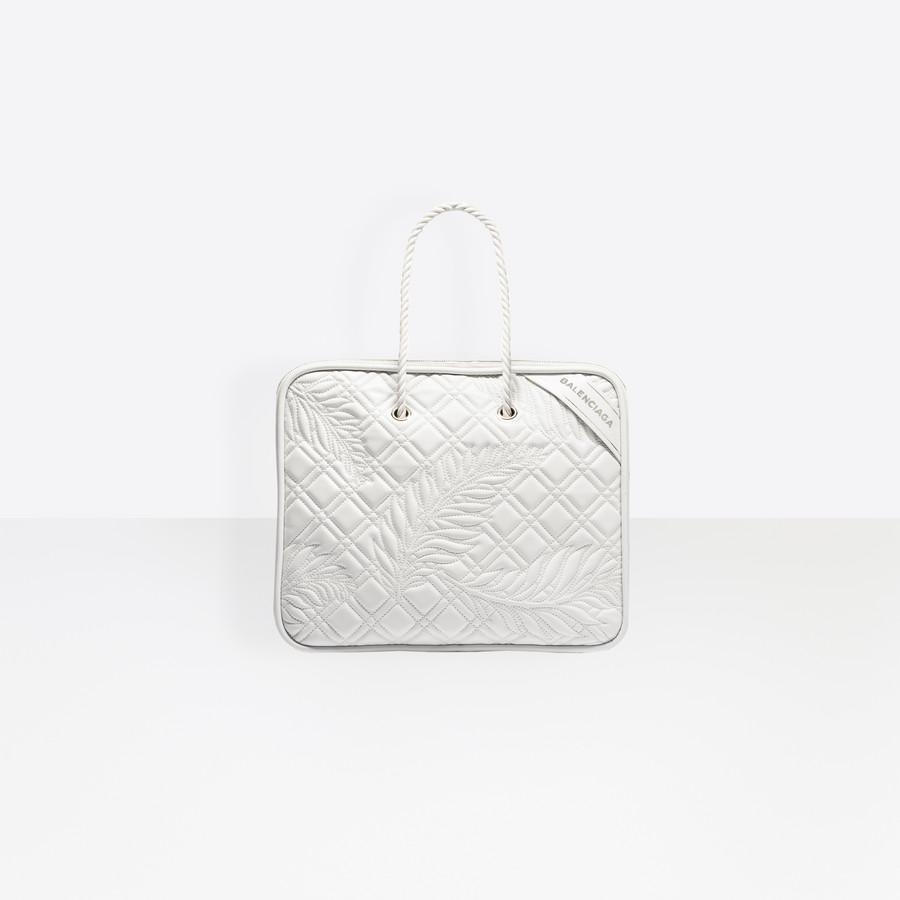 BALENCIAGA Blanket Square M Blanket Handbags D f