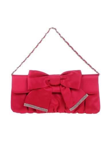 CHIARA P レディース ハンドバッグ フューシャ 紡績繊維