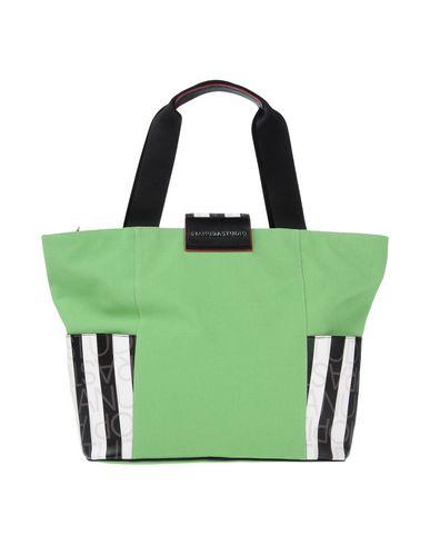 PIANURASTUDIO レディース ハンドバッグ ライトグリーン 紡績繊維 / 革