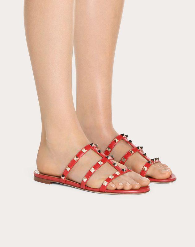 Sandalo slider basso Rockstud