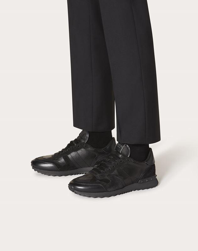 Camou-Noir Rockrunner Sneaker