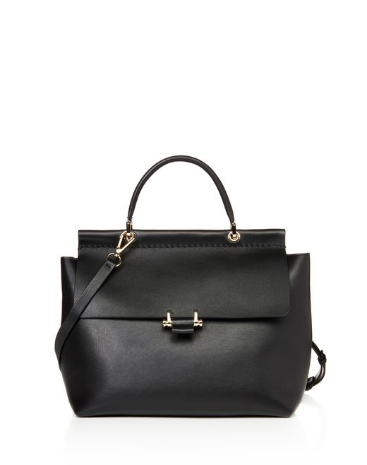 lanvin medium essential bag women