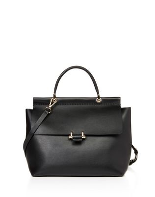 "LANVIN MEDIUM ""ESSENTIEL"" BAG Shoulder bag D f"