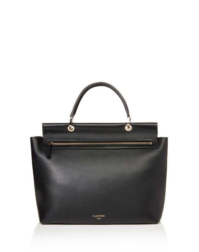 "LANVIN MEDIUM ""ESSENTIEL"" BAG Shoulder bag D r"