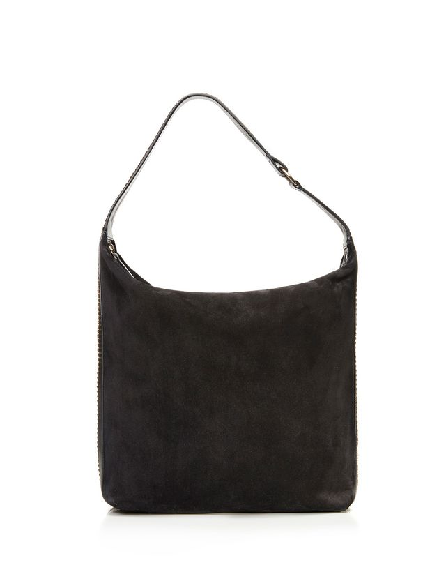 "LANVIN MEDIUM ""CHAÎNE"" HOBO BAG Shoulder bag D r"