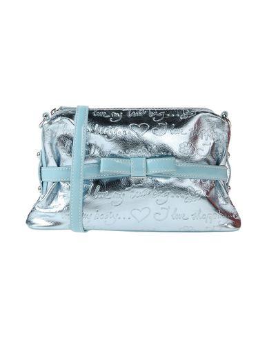 TUA BY BRACCIALINI レディース ハンドバッグ スカイブルー 紡績繊維
