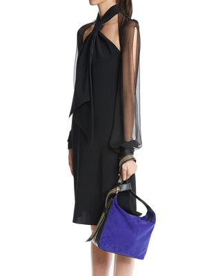 "LANVIN MEDIUM ""CHAÎNE"" BAG Evening D a"