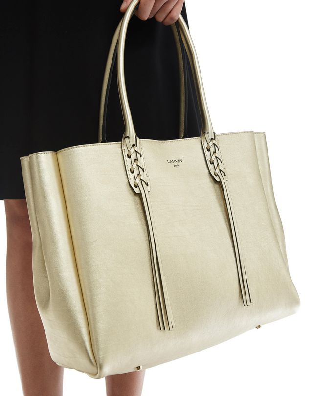 LANVIN SMALL SHOPPER BAG Tote D a
