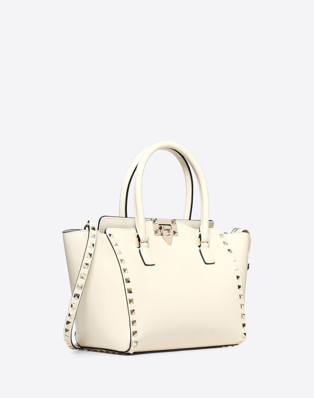 Small Rockstud Double Handle Bag