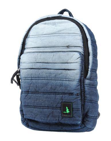 MUESLII レディース バックパック&ヒップバッグ ダークブルー 紡績繊維
