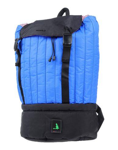 MUESLII レディース バックパック&ヒップバッグ ブルー 紡績繊維