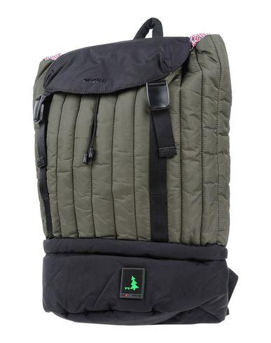 MUESLII レディース バックパック&ヒップバッグ ミリタリーグリーン 紡績繊維