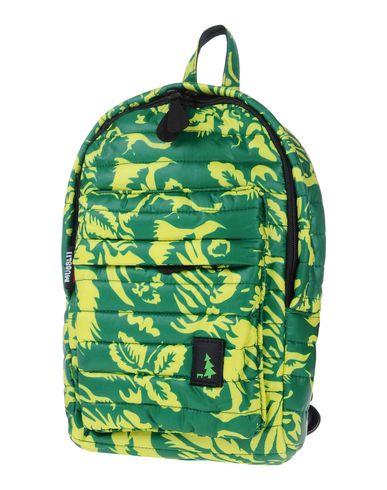 MUESLII レディース バックパック&ヒップバッグ グリーン 紡績繊維