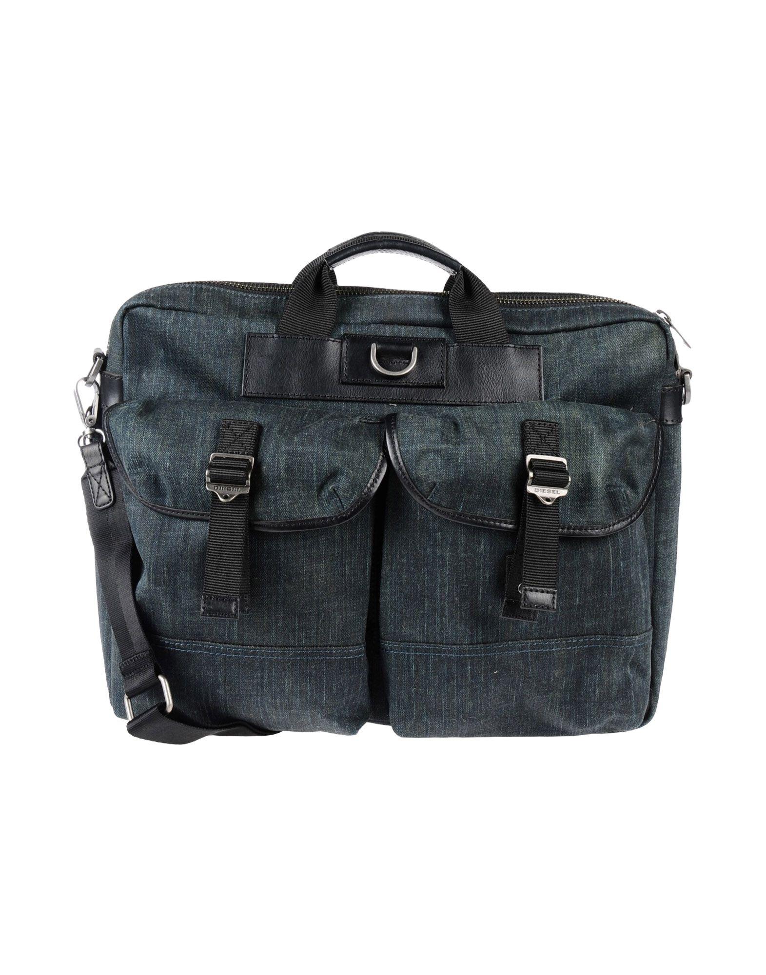 DIESEL Деловые сумки кожаные сумки diesel x04815 pr027 h5839