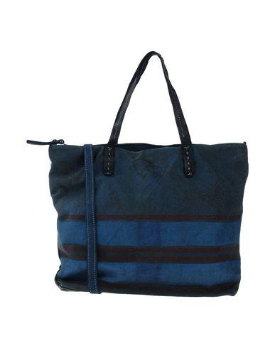 CATERINA LUCCHI レディース ハンドバッグ ディープジェード 紡績繊維 / 革