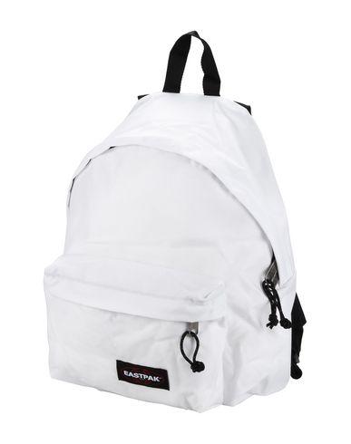 EASTPAK レディース バックパック&ヒップバッグ ホワイト 紡績繊維