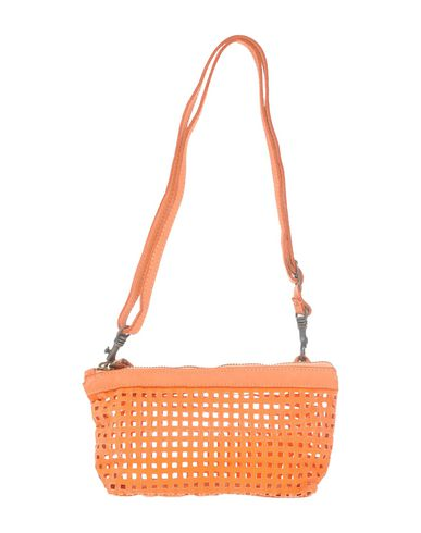 CATERINA LUCCHI レディース 肩掛けバッグ オレンジ 牛革(カーフ) / 紡績繊維