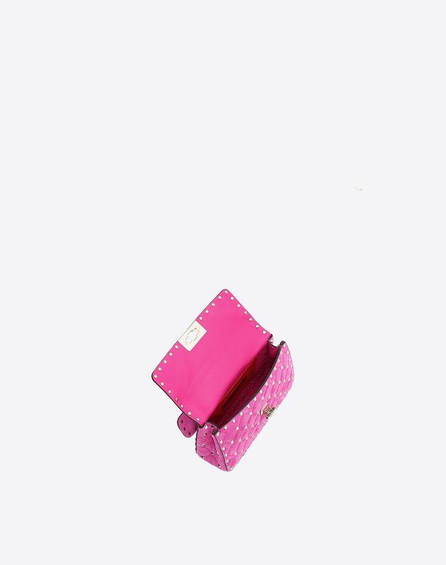 Small Suede Rockstud Spike Bag