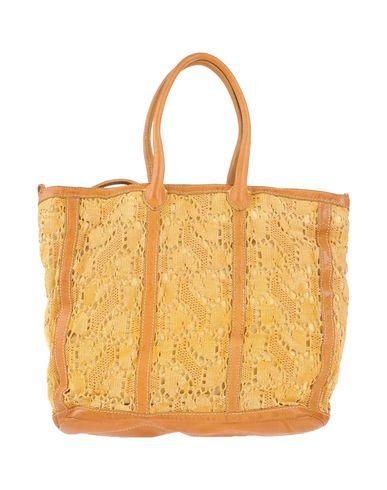 CATERINA LUCCHI レディース ハンドバッグ オークル 革 / 紡績繊維
