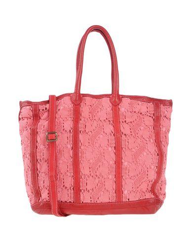 CATERINA LUCCHI レディース ハンドバッグ レッド 革 / 紡績繊維