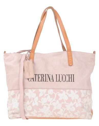 CATERINA LUCCHI レディース ハンドバッグ ライトピンク 革