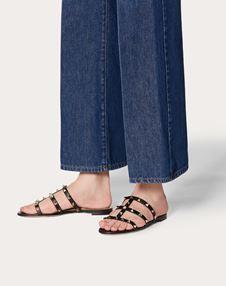 Rockstud Flat Slide Sandal