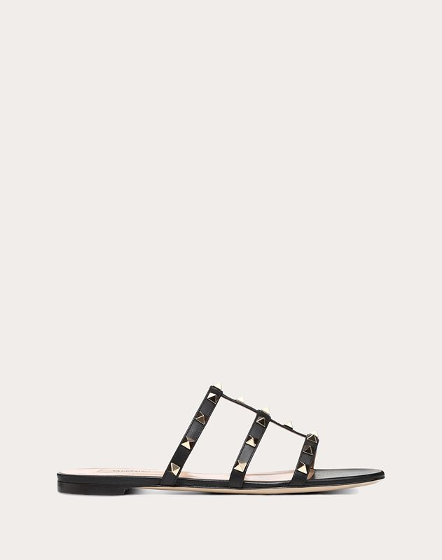 2a12ea6a0 Rockstud Flat Slide Sandal for Woman