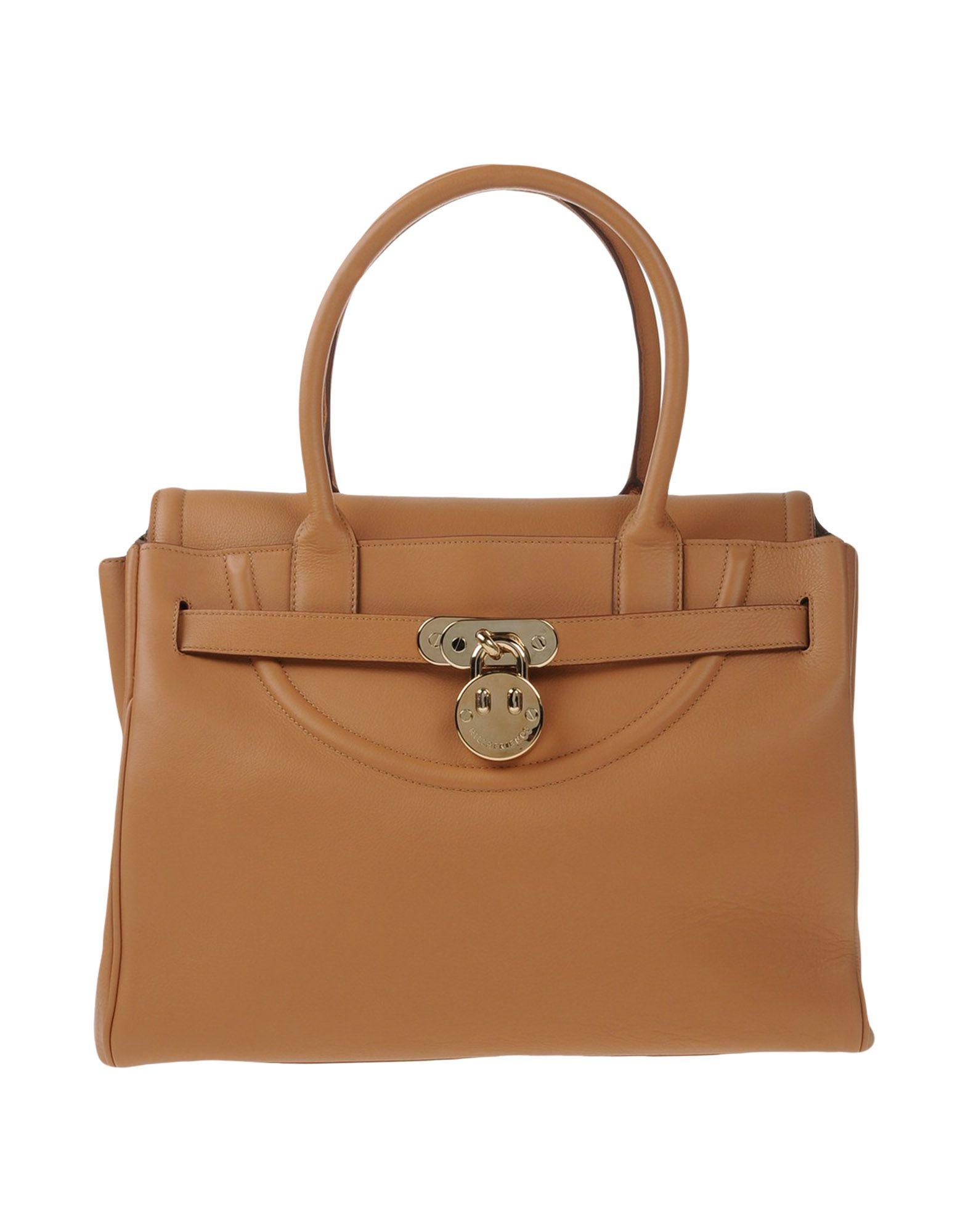HILL & FRIENDS Handbag in Camel