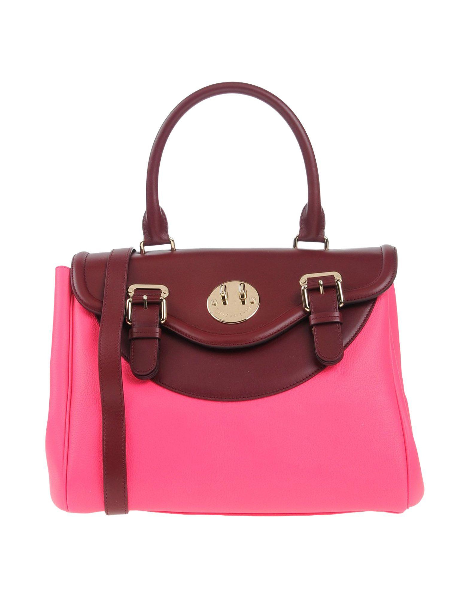 HILL & FRIENDS Handbag in Fuchsia
