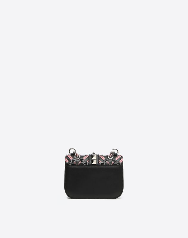 faa5f92a3d4 Small Love Blade Lock Bag for Woman | Valentino Online Boutique