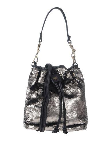 CATERINA LUCCHI レディース ハンドバッグ ブラック 革 / 紡績繊維