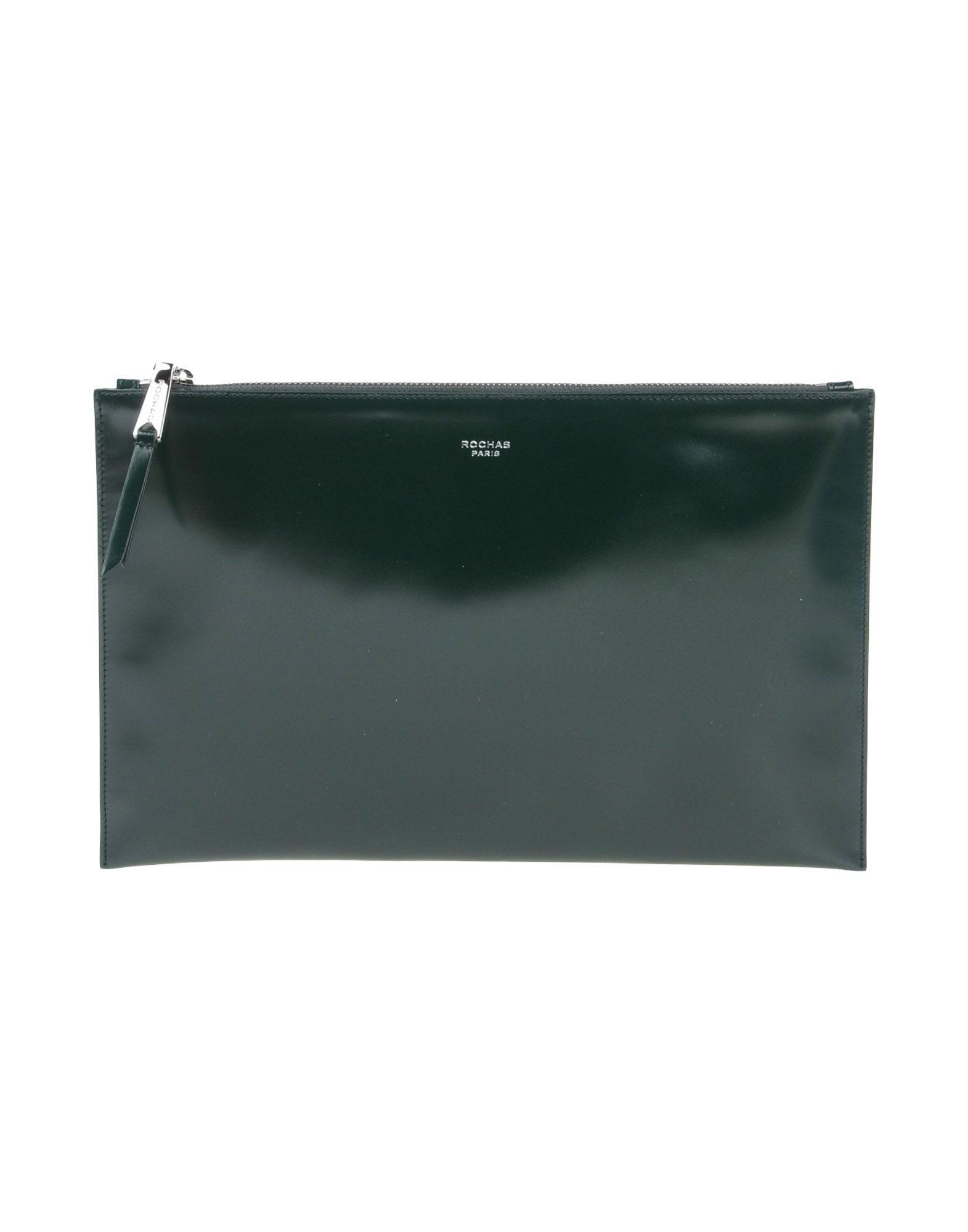 ROCHAS Damen Handtaschen Farbe Dunkelgrün Größe 1