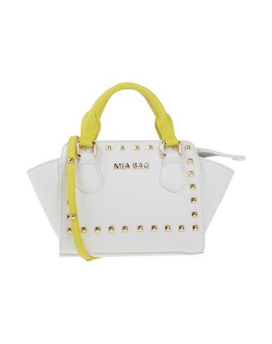 MIA BAG レディース ハンドバッグ ホワイト ポリウレタン 100%