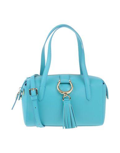 TOSCA BLU レディース ハンドバッグ ターコイズブルー 革 100%