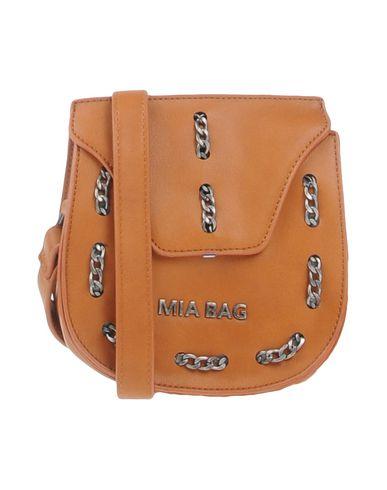 MIA BAG レディース メッセンジャーバッグ ブラウン ポリウレタン 100%